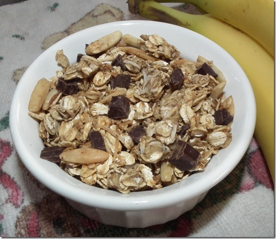 Chunky Monkey Granola 1-7-11