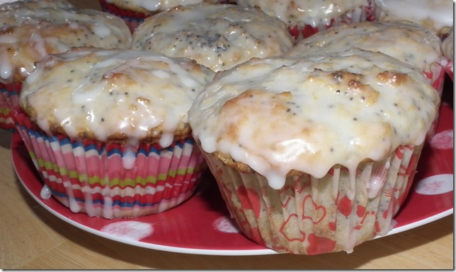 TWD--Lemon Poppy Seed Muffins 1-15-11