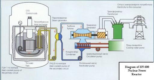 ядерного реактора