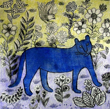 Manja Scott - Blue Cat