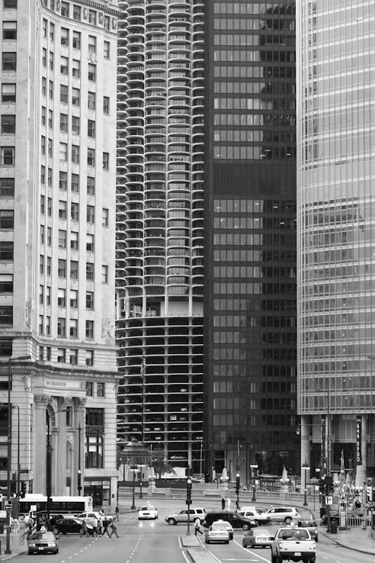 Chicago Street with Corn Cob