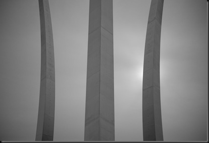 5 AF Memorial sillouette