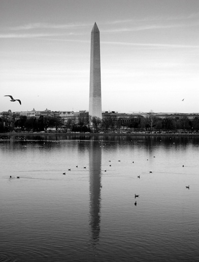 Washington Monument Refelction-2