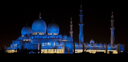 Grand Mosque at Night  (1 of 22)