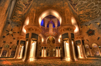 Grand Mosque Prayer Room HDR-3