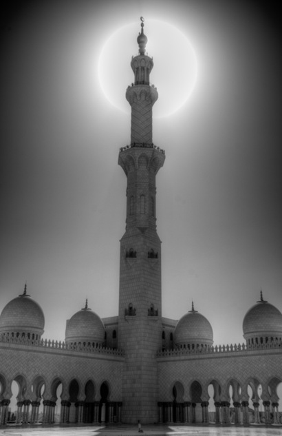 Minaret in the Sun-2