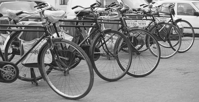 Paper bikes