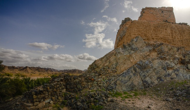 Fort at Al Nuway Omman-5