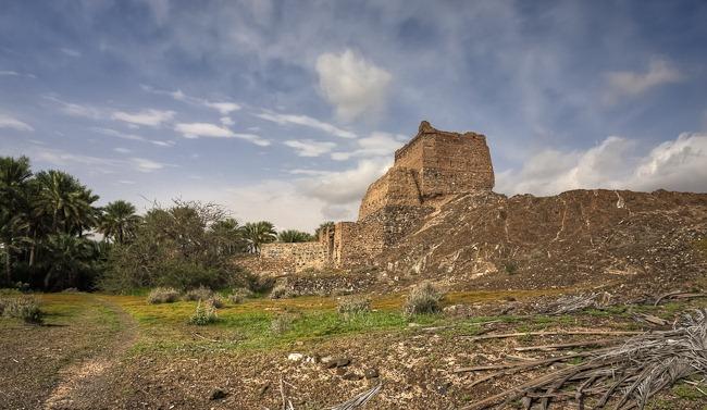 Fort at Al Nuway Omman-1