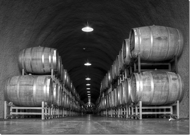 Deerfield winery caves
