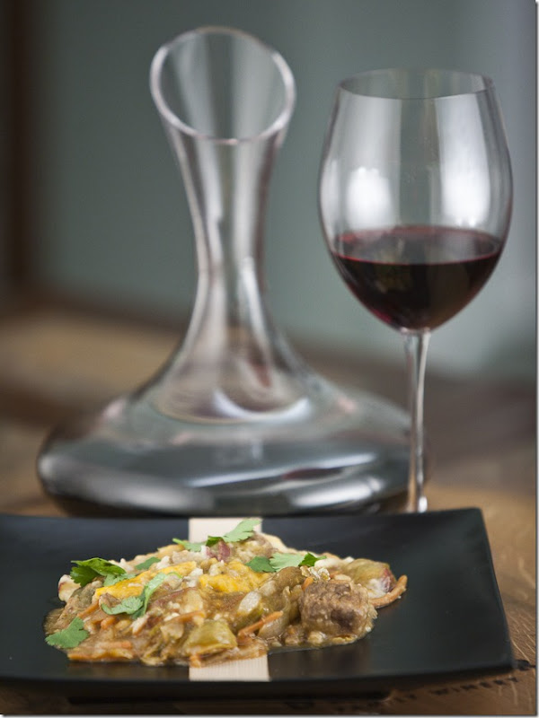 Shepherds Pie with Ledson Zinfandel