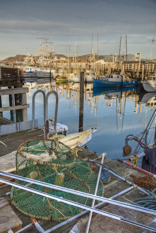 Boats at Fishermans Wharf San Francisco-6