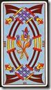 4 de Espadas do Marseilles Fournier - Fonte Taroteca