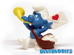 Postman Smurf - Heart