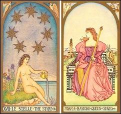 Estrela & Rainha de Paus