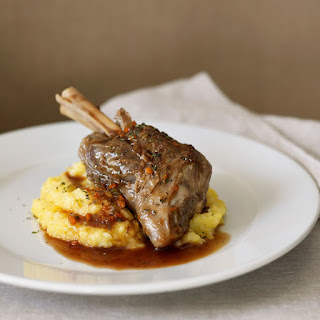 "Lamb Shanks Roasted ""a la Matignon"""