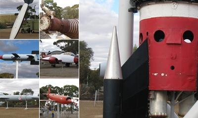 View Woomera - Old rockets