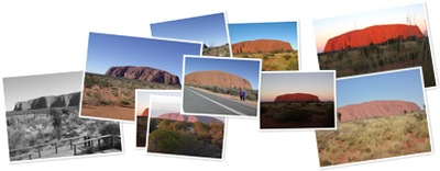View Uluru - various photos