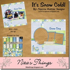 It's Snow Cold Preview (Nita)