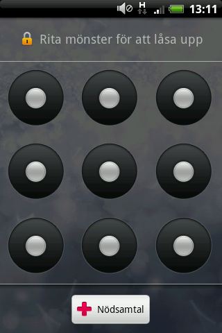 Android Lock Pattern