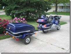 Goldwing and Trailer