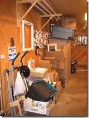 quilt and garage clean 010