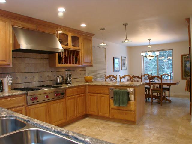 Gourmet Lake Tahoe Kitchen