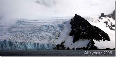 glacier and arete