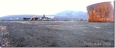 Deception Island ruins