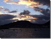 Sunset over the Beagle Sound