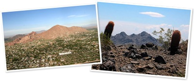 View Camelback and Squaw Peak