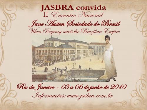 Convite II Encontro Nacional JASBRA