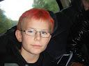 Jonas med Halloween hår, klik til flere billeder