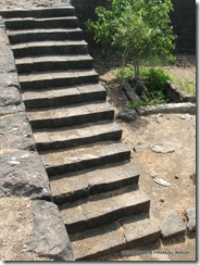 Steps in excellent condition