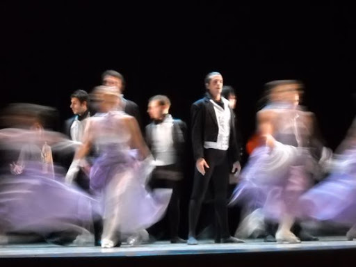 Ballet and music from Chopin at Tirana's opera house.