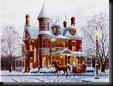 Christmas Ride Through Town unique desktop wallpapers