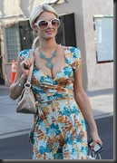 Paris Hilton Cleavage Candids in Los Angeles 4