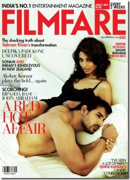 Bipasha Basu Filmfare Magazine