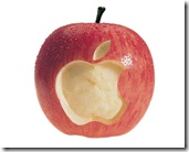 Apple and Apple 1280x1024 advertising wallpaper