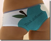 Apple Sexy Lingerie 1280x1024 advertising wallpaper