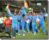 The Indian Team Most Memorable Moments of the 2011 ICC Cricket World Cup Photos 3