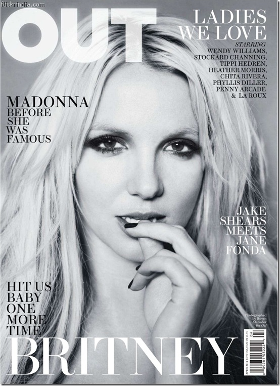 Britney spears out magazine april 2011