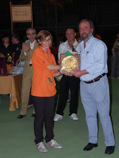 Franca Sardegna e il sindaco Vincenzo Emma