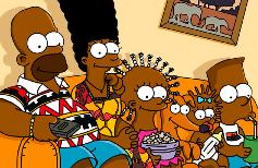 Imagen Los Simpson en Angola...