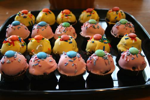 cake pops recipe. the Cupcake Pops recipe,