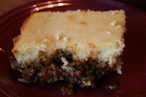 What's for Dinner?: BBQ Beef and Bean Cornbread Casserole
