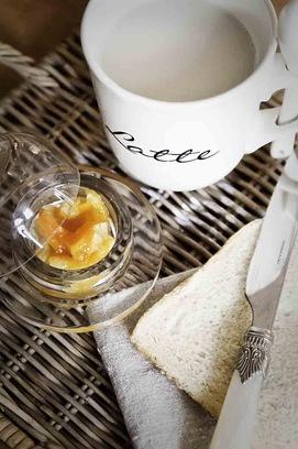 Frühstück bei Les Tissus Colbert 02