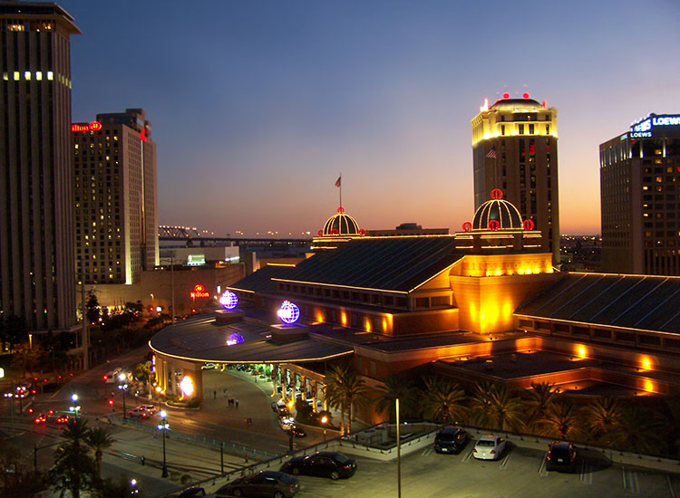 Harrahs casino downtown new orleans