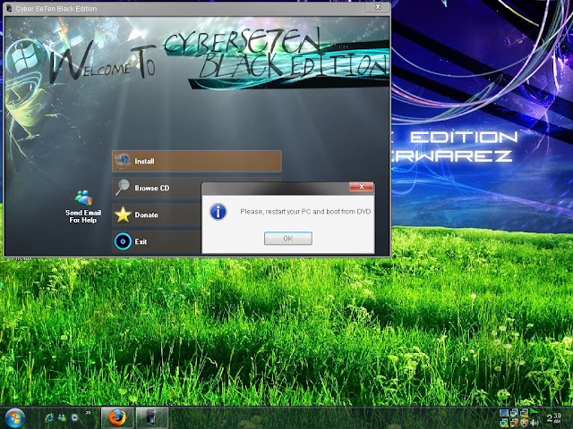 Windows Se7en XP Black Edition 2010