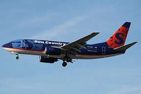 Boeing 737 Sun Country